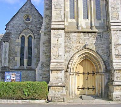 Ryde aspire at a church