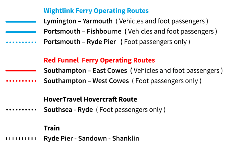 map of isle of wight accessible travel