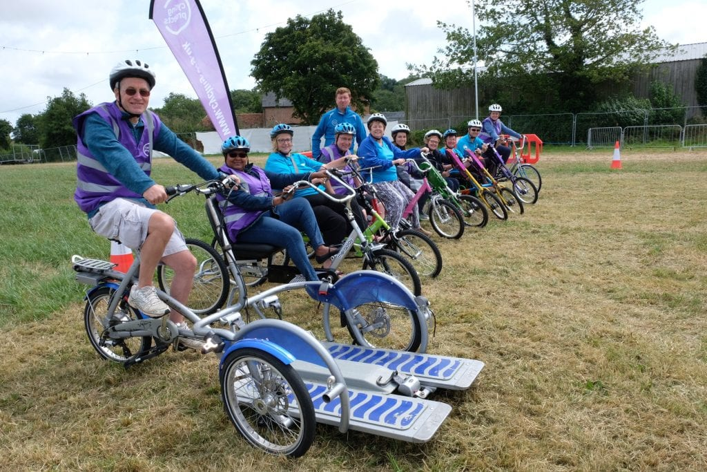 A selection of adapted cycles
