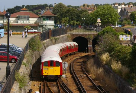 Picture of the Isle of Wight train